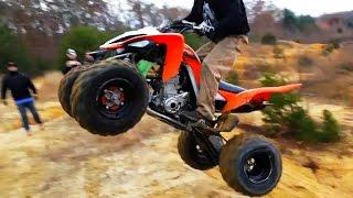 8. Fail Crash Yamaha Raptor - ATV quad compilation 2015 #2