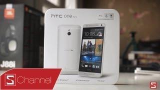Schannel - Mở hộp HTC One mini - Bản rút gọn của HTC One - CellphoneS