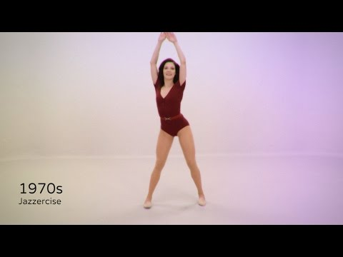 100 Years of Fitness in 100 Seconds