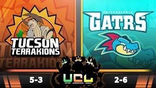 Pokémon ORAS LIVE Wi-Fi Battle [UCL S2W9] Tucson Terrakions vs Philadelphia Feraligatrs by King Nappy