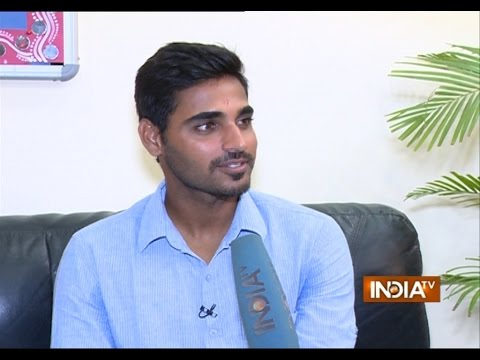 Watch Team India Pacer Bhuvneshwar Kumar Exclusive Interview on IndiaTV