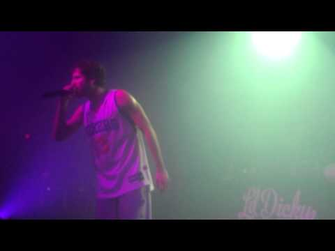Lil Dicky - White Crime Live Philly TLA (First Live Show Ever)