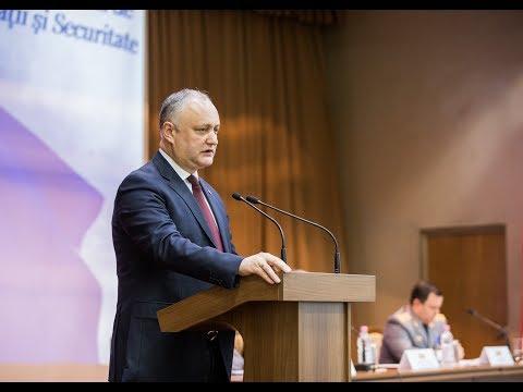 Președintele Republicii Moldova a participat la şedinţa lărgită a Colegiului SIS