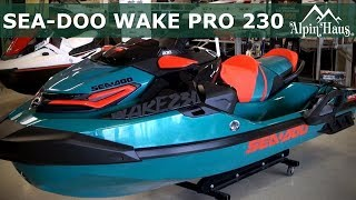 6. 2018 Sea Doo WAKE PRO 230