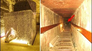 6 Mysterious Discoveries That Have Been Made Inside The Pyramids