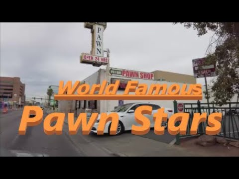Pawn Stars Las Vegas Drive By 4K Resolution (February 11, 2021)