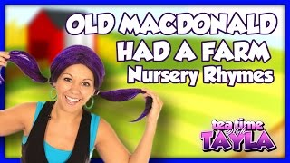 Old MacDonald Had a Farm, Nursery Rhymes with lyrics