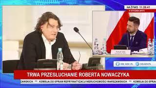 Minister konstytucyjny i jednocześnie szef służb ośmieszany na antenie telewizji publicznej.