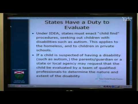Die gesetzlichen Rechte von Kindern mit Autismus und verwandte Erkrankungen