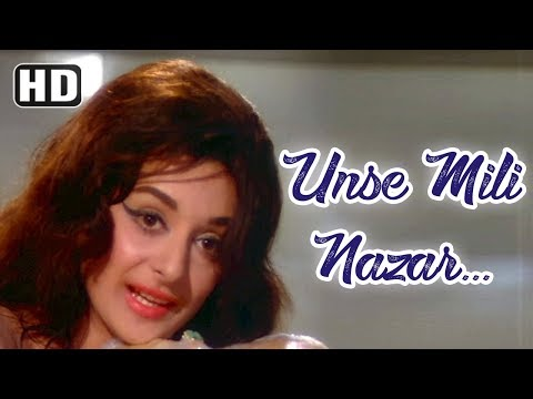 Video Unse Mili Nazar | Jhuk Gaya Aasman | Rajendra Kumar | Saira Banu | Bollywood Songs | Lata Mangeshkar download in MP3, 3GP, MP4, WEBM, AVI, FLV January 2017