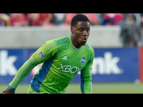 GOAL: Eddie Johnson blasts ball past Fernandez | Seattle Sounders vs FC Dallas_Soccer, MLS, Major League Soccer best videos. Sport of USA, MLS