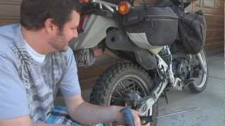 5. o#o How to make your stock KLR 650 exhaust sound manly for FREE (get rid of the chirp!) Thanks NT8!