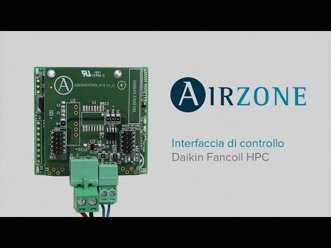 Installazione - Interfaccia di controllo Airzone - Daikin Fancoil HPC