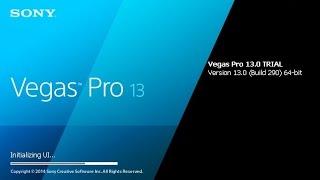 Sony Vegas PRO 13 32bits não tem so tem para 64bits - Como baixar,instalar e crackear facil e rapido como estala e crackear sony vegas 13 Facebook : http://w...