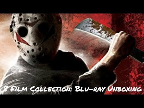 Blu-ray Unboxing: Friday the 13th 6 Disc Set