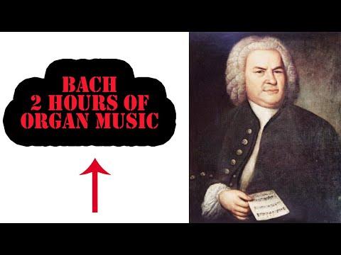 Johann Sebastian Bach – 2 hours of Organ Music