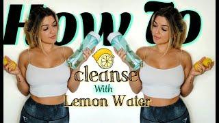24-Hour Lemon Water Fast Challenge