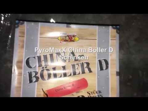 PyroMaxx China Böller D Schinken unboxing + Review & Test PyroBangerTV