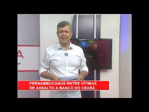 [RONDA GERAL] Pernambucanos entre vítimas de assalto a banco no Ceará
