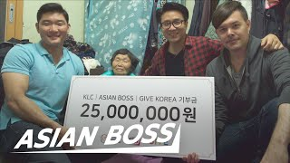 Video We Gave $25,000 To A Korean Grandma Making $2 A Day | ASIAN BOSS MP3, 3GP, MP4, WEBM, AVI, FLV Agustus 2019
