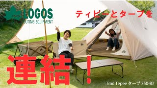 【設営&撤収】Trad Tepeeタープ350-BJ