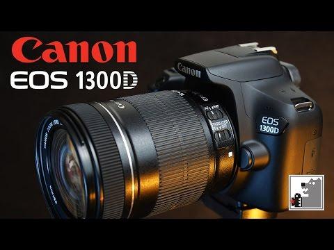 Canon 1300D | Зеркалка для начинающего (видео)