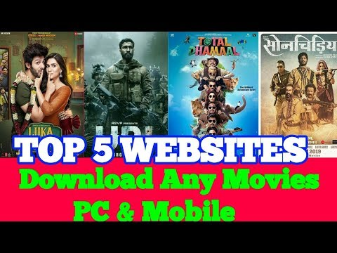 Top 5 New WebSites For Download Movies Pc & Mobile / New Website To Download Latest Movies Of 2020