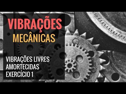 VIBRAÇÕES LIVRES AMORTECIDAS - EXERCÍCIO 1
