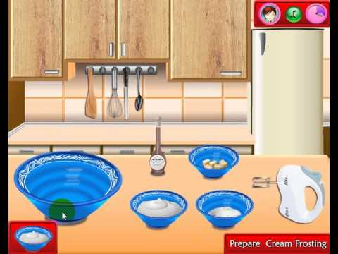 Sara Cooking Games Red Velvet Cake Online Game