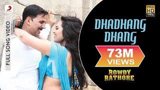 Video Dhadhang Dhang - Rowdy Rathore | Akshay Kumar | Sonakshi Sinha MP3, 3GP, MP4, WEBM, AVI, FLV November 2018