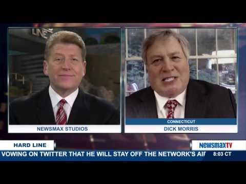 The Hard Line | Dick Morris discusses Donald Trump announcing a personal boycott of Fox News