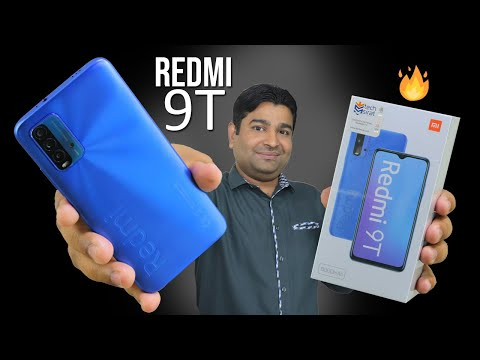 Redmi 9T Unboxing And First Look 🔥 Another Budget King?