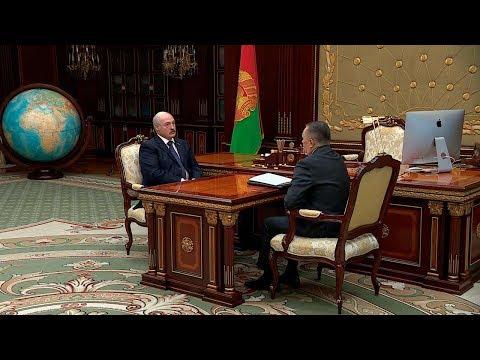 Лукашенко заслушал доклад Сукало о работе судебной системы в новых условиях