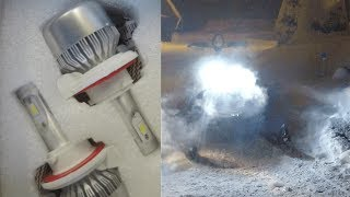 3. Snowmobile Stock Headlights vs LED Comparison & Installation