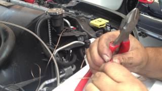 Rental Car Nitrous kit install how to