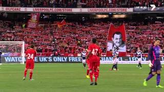 Liverpool F.C. & 95,000 Australian fans sing
