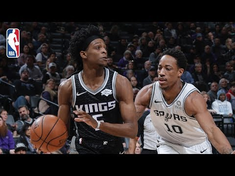 Video: Full Game Recap: Spurs vs Kings | Bagley Records Career-High