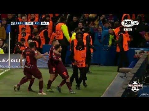 Chelsea vs Barcelona 1-1 Goles y Resumen (Highlights) Octavos de Final Ida Champions League 2018