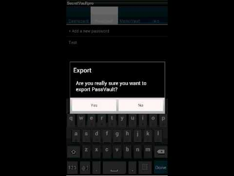 Video of SecretVaultpro(free)