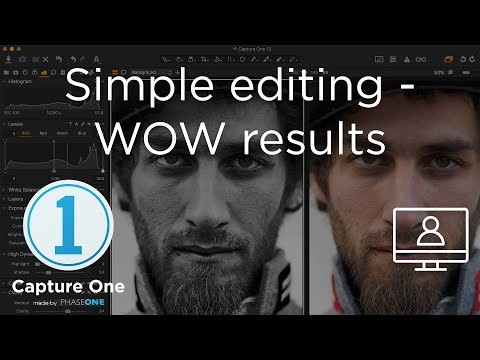 Simple Editing - Wow Results | Webinar | Capture One 12