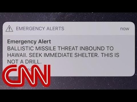 Hawaii gets false missile strike alert - News 247 US