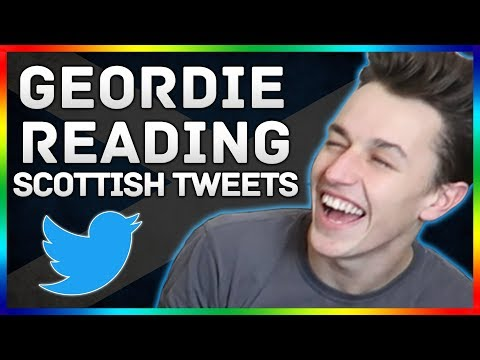 READING SCOTTISH TWEETS #3 (Geordie Edition With Cam Kirkham)