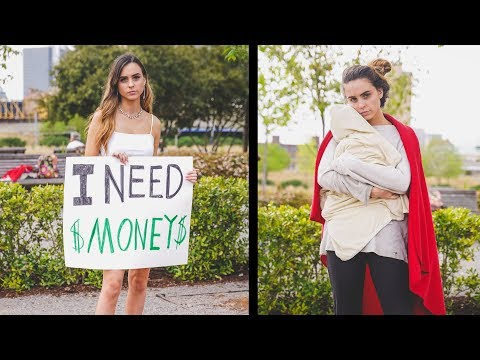 Rich Girl vs Poor Mom (Social Experiment)