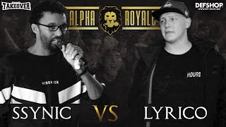 Alpha Royale x TopTier Takeover Halbfinale:  Ssynic vs Lyrico