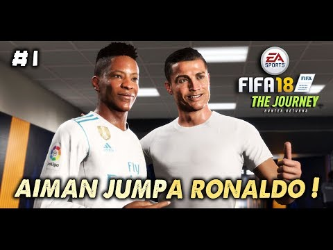 Aiman Jumpa Cristiano Ronaldo~! (FIFA 18 Malaysia) - The Journey Hunter Return | Part 1