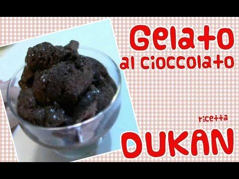gelato al cioccolato dukan - ottimo, facile e veloce.