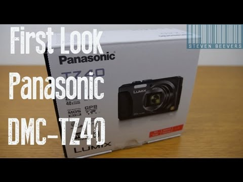 Unboxing and First Look at the New Panasonic DMC-TZ40 Digital Camera