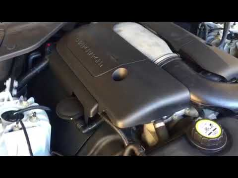 2007 2-Owner Liquid Silver Jaguar XJR Engine Running!
