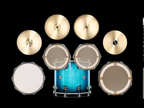 Video of Cute Toddlers Drum