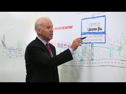 America - In this installment of the White House White Board series, Vice President Biden takes the pen and discusses the importance of transportation infrastructure investment in America. Learn more...